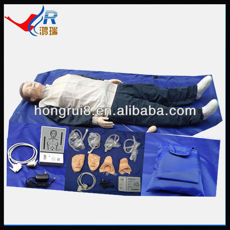Advanced Whole Body CPR Training Manikin, CPR Training Manikin bix h2400 advanced full function nursing training manikin with blood pressure measure w194