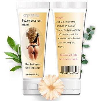100g crème d'enchantement des fesses rehausseur de hanche cul soulever Sexy hanche fessier élargissement plante extrait crème de Massage efficace