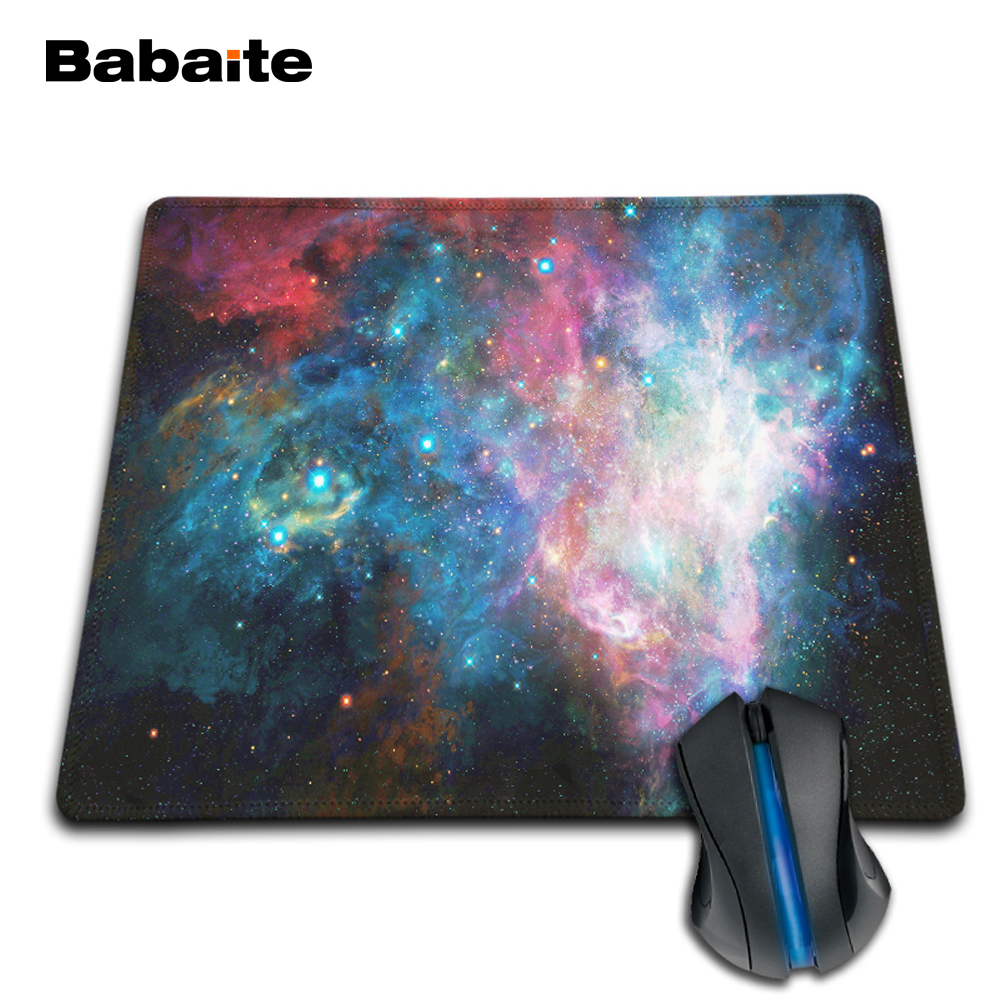 babaite amazing space new arrival design mouse pad durable. Black Bedroom Furniture Sets. Home Design Ideas