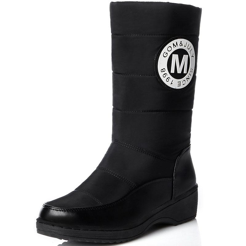 Online Get Cheap Mid Calf Leather Boots for Women -Aliexpress.com ...