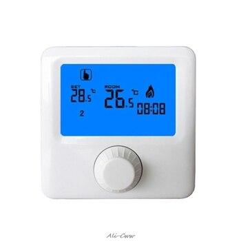 Lcd ディスプレイ壁掛けガスボイラーサーモスタットウィークリープログラマブル室内暖房デジタル温度コントローラサーモスタット