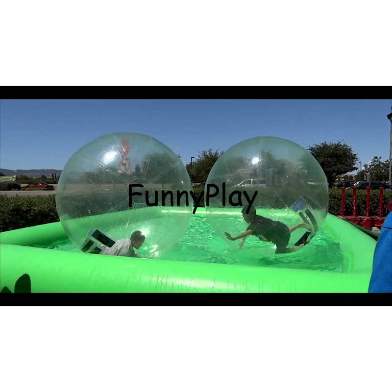 inflatable hamster ball pool,Inflatable Water Roller Zorb Aquare Pools,Promotional Custom PVC Inflatable Pool for water ball hot sale pool type 0 9mm pvc inflatable swimming pool for water ball boat use