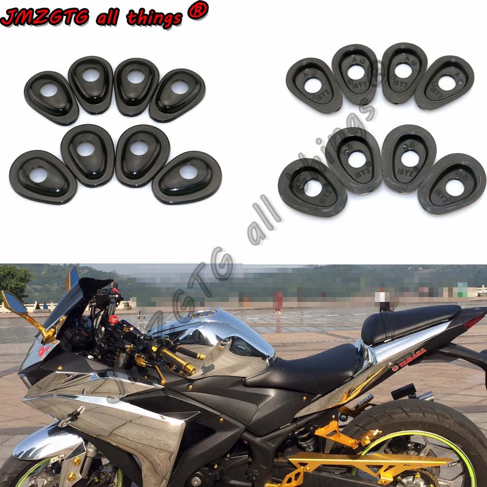Motorcycle Refit Turn Signals Indicator Adapter Spacers For YAMAHA R15 R25 R3 R6 R6S R1 MT01 MT25 MT03 MT07 MT09 MT10