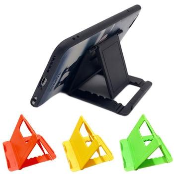 Etmakit Foldable Cradle Phone Holder Grip Bracket For Tablet Phone Stand Multi-angle Desk Holder For Samsung iPhone X 8 7 HTC 1