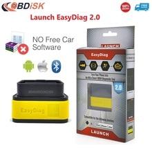 Original del Lanzamiento X431 Easydiag EasyDiag2.0 Herramienta de Diagnóstico 2.0 para Android/iOS Bluetooth OBDII Escáner Actualización En Línea de Envío Gratis