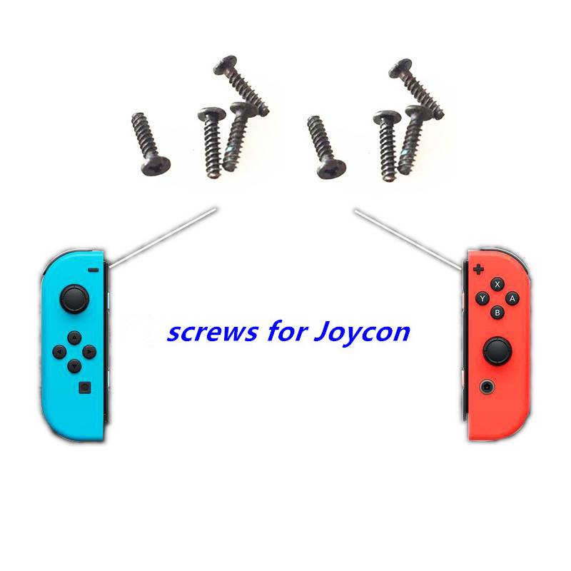 4PCS Y Type Screws for Nintend Switch NS Joy con Joycon Original Shell Case Repair Screws Replacement Part For Nintend Switch in Replacement Parts Accessories from Consumer Electronics