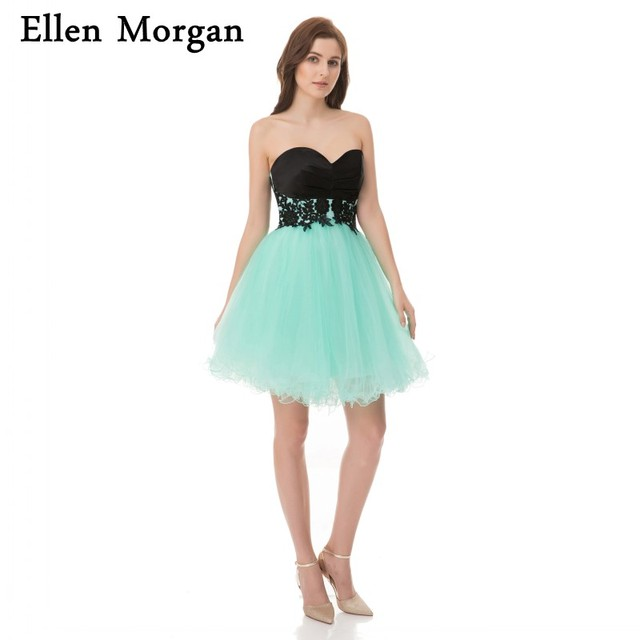 Cheap Short Homecoming Dresses Under 50 Sexy Above Knee Mini Tulle