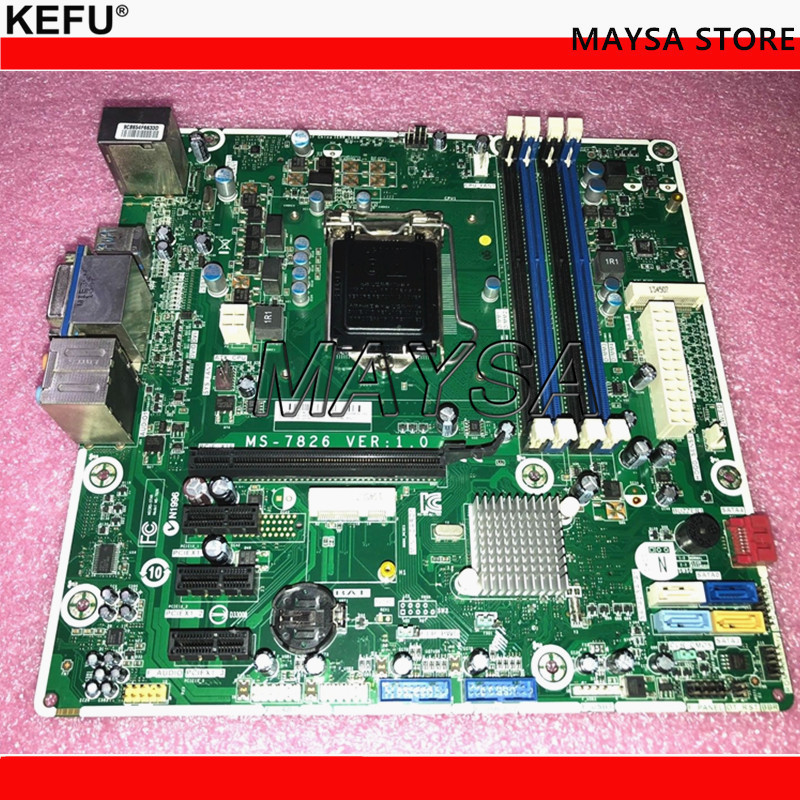 698749-001 Fit For HP ENVY 700 700-019 Desktop Motherboard 698749-002 717068-501 MS-7826 LGA1150 Mainboard 100%tested fully work 795972 001 for hp prodesk 600 g1 sff desktop motherboard 696549 003 795972 501 lg1150 mainboard 100%tested fully work