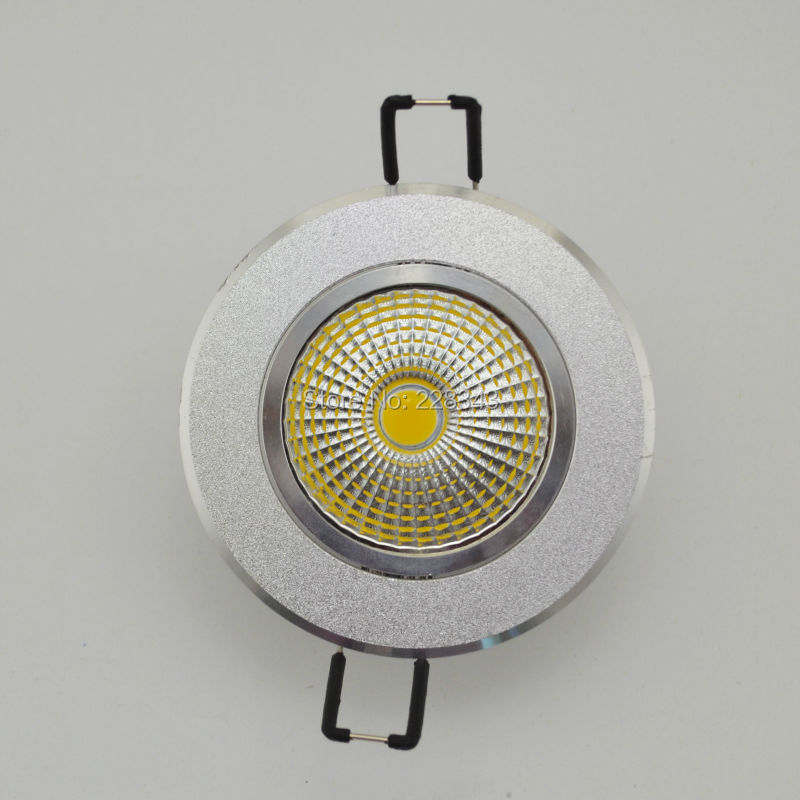 Ultrabright 2015 3W 5W 7W 10W 12W Dimmable COB LED ceiling light lamp Spot AC85V~265V for home illumination Free shipping