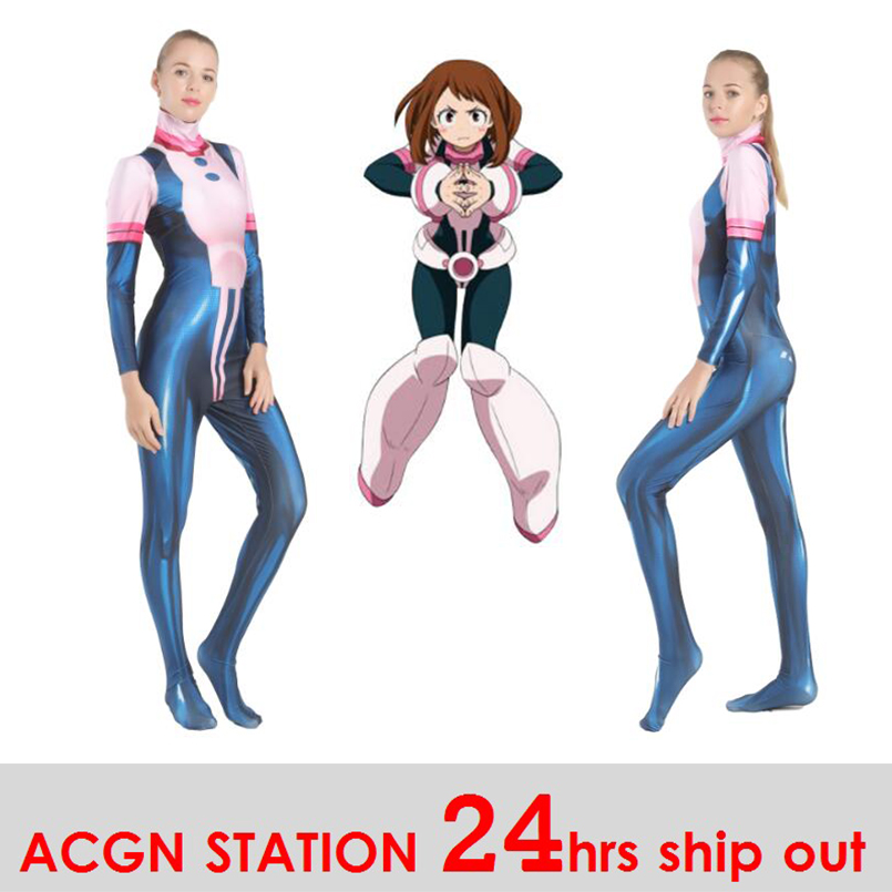 Us 26 99 Women My Hero Academia Royal Tea Cosplay Costumes Asuitsuyu Yaoyorozu Momo Battle Clothing Hero Academia Ochaco Uraraka Cosplay On