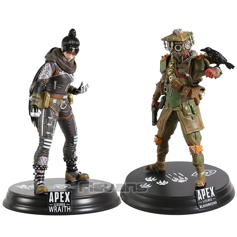 <font><b>Apex</b></font> legends Wraith / Bloodhound PVC Figure Collectible Model <font><b>Toy</b></font> image