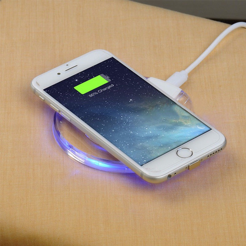 QI Wireless Charging Charger Module Pad+Receiver For Apple iPhone 5/5S/5C/6S/7