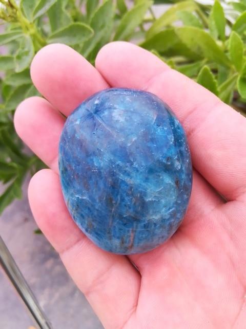 40 г натуральный кристалл апатита полировки образец Исцеление