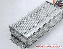15 mosfet 36 V/48 V 800W 1000W 35A çift modlu sensörü/sensörsüz BLDC elektrikli bisiklet /Scooter denetleyici