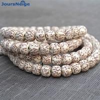 Corn Blood Silk Natural Bodhi Horn Hole High Density Gold Line Hand String 108 Beads Bracelet