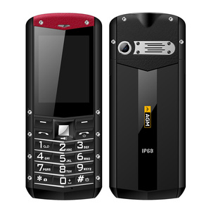 Image 3 - AGM M2 IP68 Waterdichte Mobiele Telefoon 1970mAh Grote Batterij Outdoor Mobiel 2G GSM 0.3MP Camera 2.4 inch Dual SIM Kaart Telefoon