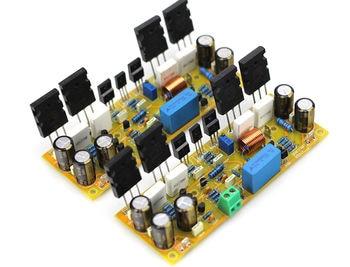 GZLOZONE DIY One Pair Classic Symasym5-3 Discrete Power Amplifier Kit (1943/5200) фото