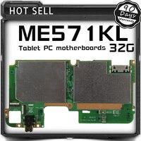 Tablet placa Lógica motherboard Placa base Para El Asus Google Nexus 7 ME571KL 32 GB K008 K009 Generación/Segunda Generación probado