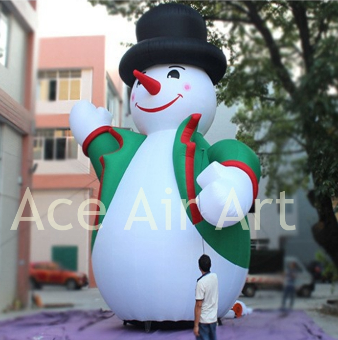 Popular inflatable snowman decorations buy cheap for Quality outdoor christmas decorations