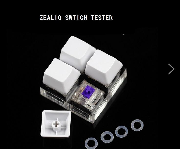 R5 Purple Zealio Spínače testeru přepínače 62g 65g 67g 78g OEM DSA třešeňový profil pro klávesnici mechaniacl