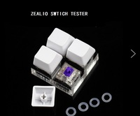 R5 Purple Zealio Switches switch tester 62g 65g 67g 78g OEM DSA cherry profile keycap for mechaniacl keyboard