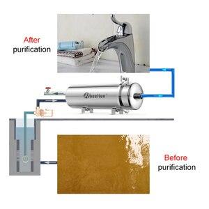 Image 2 - Wheelton PVDF UF Водоочиститель весь дом ультрафильтрация фильтр для воды 0,01 мкм фильтры 3500л/ч SUS304 питьевая вода (база на municip
