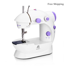 Multi-Funcational Mini Handheld Sewing Machines with Dual Speed and Double Thread