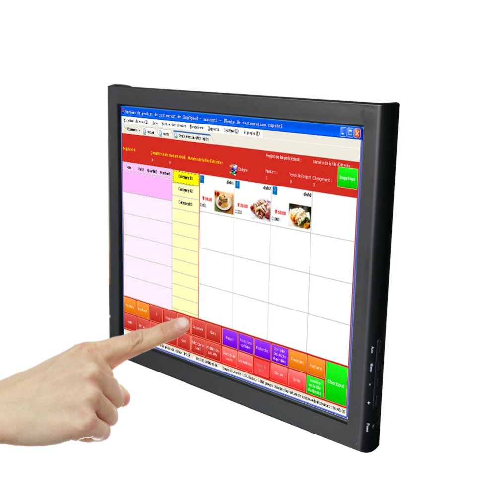 buy bosstouch 17 39 39 inch touch screen monitor lcd tft vga 1280 1024 hd color. Black Bedroom Furniture Sets. Home Design Ideas