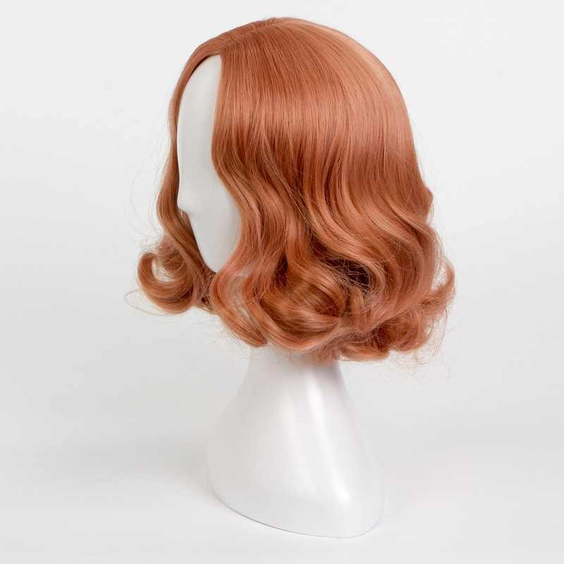 Аниме игра Persona 5 Haru Okumura косплей парик Хэллоуин парик с короткими вьющимися волосами вечерние искусственные волосы