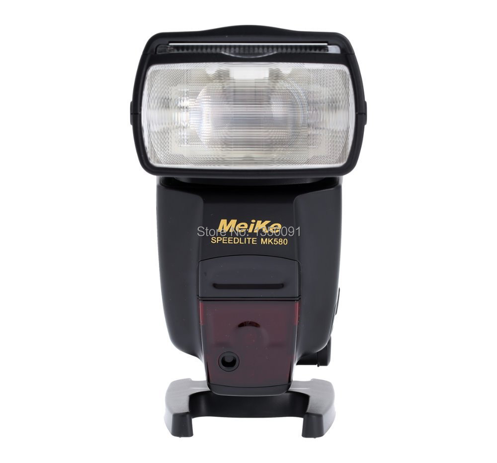 Flash pour appareil photo Meike MK580 TTL Speedlite pour Canon 580EXII EOS 5D Mark II III 6D 7D 60D 600D 700D 760D 5D4 + diffuseur-in Clignote from Electronique    1