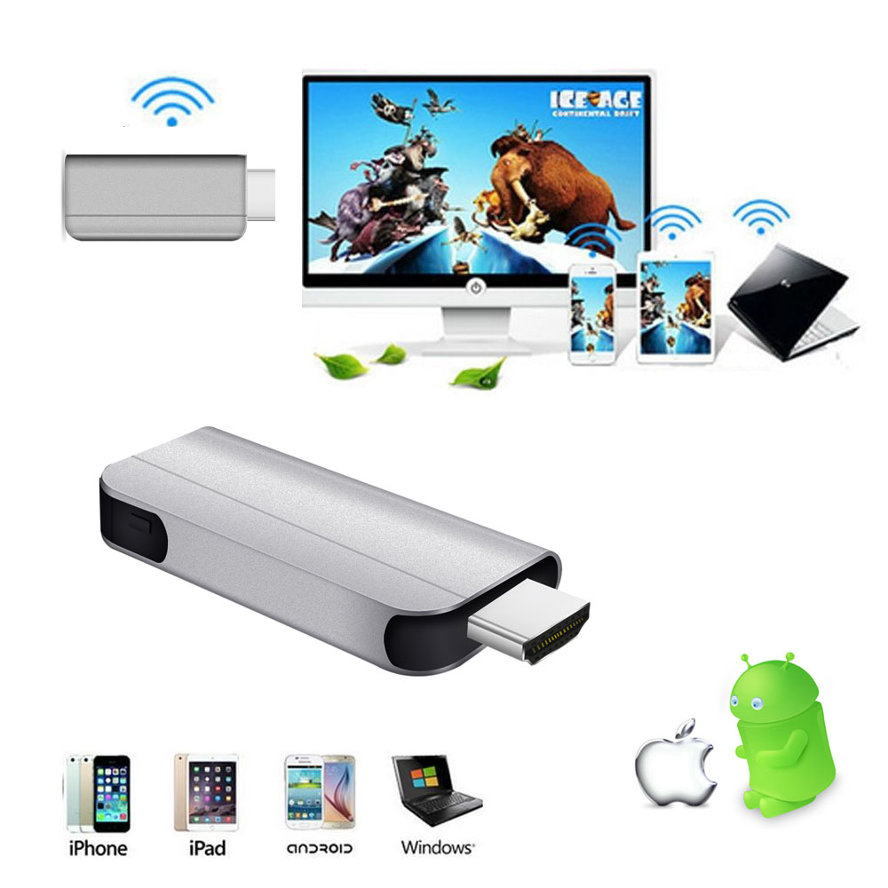Wireless WiFi TV Stick HDMI Dongle Miracast Airplay DLNA Screen Display Receiver