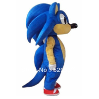 new sonic the hedgehog high quality costume cosplay mascot sonic mascot suit