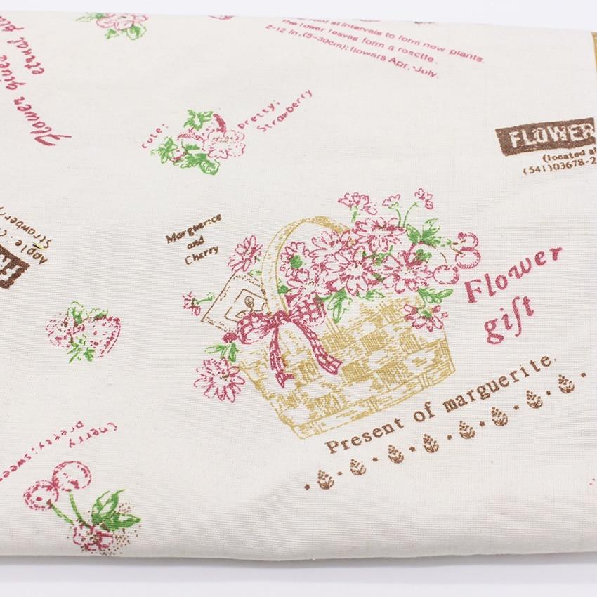 Flores regalos impreso Telas para Costura textiles cortina tela ...