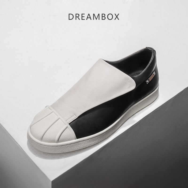 dreambox2017 Summer European and American fashion  magic  man's low help casual platform shoes dreambox 800 hd крайот