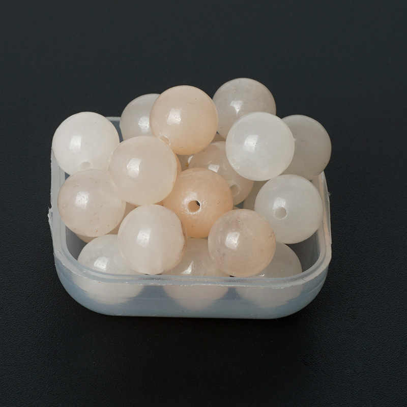 Koraliki z kamienia naturalnego awenturyn kamień kwarcowy okrągły luźny koralik 4/6/8/10mm różowy kryształ kamień dla muzułmańskich różaniec bransoletka Charms