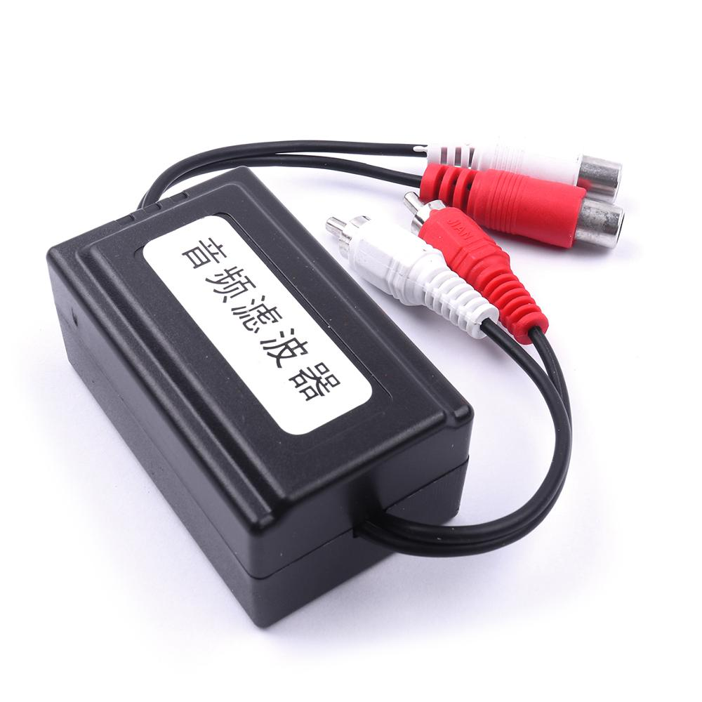 Nuovo 1 pc 6.3x3.8x3 CM Auto RCA Amplificatore Audio Noise Filter Loop di Terra Isolatore Soppressore Rumore a cancellazione di per Martinetti Audio da 3.5mmNuovo 1 pc 6.3x3.8x3 CM Auto RCA Amplificatore Audio Noise Filter Loop di Terra Isolatore Soppressore Rumore a cancellazione di per Martinetti Audio da 3.5mm
