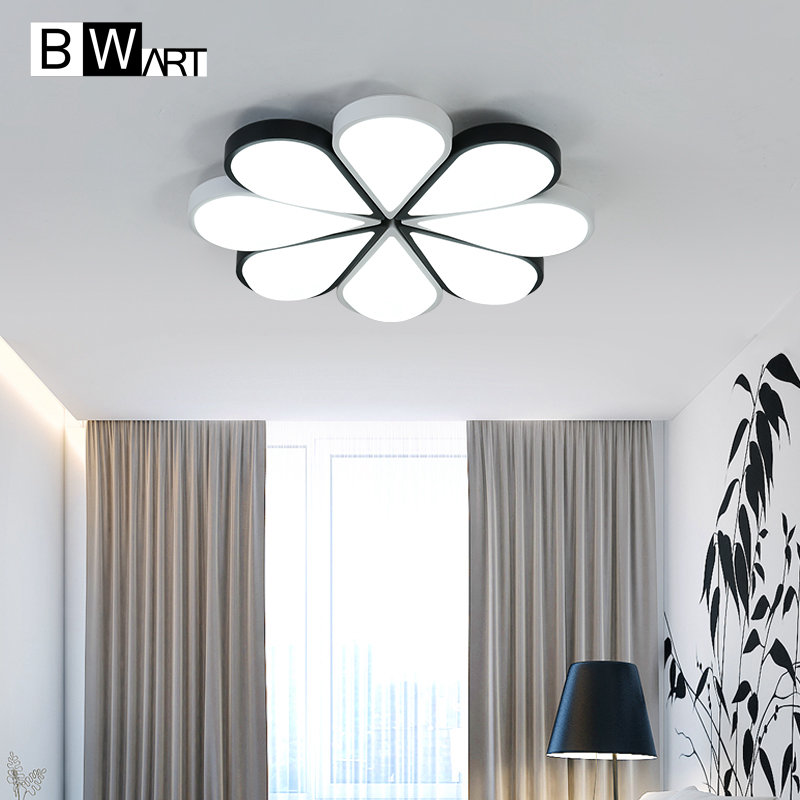 BWART Eight petals combination large Ceiling light Creative modern led ceiling lamp for living room bed room studio lighting