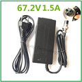 67.2V1.5A 67.2V 1.5A charger for Wheelbarrow Electric self balancing unicycle scooter skateboard charger with XLRF XLR 3 sockets