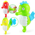 Delightful Toy Child Kid Baby Funny Toys Lovely Cute Swimming Move Wind Up Clock Seahorse Sea Horse Ocean Creature Happy