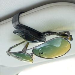 Samochód Auto okulary przeciwsłoneczne okulary klip dla opla Mokka Corsa Astra G J H insignia Vectra Zafira Kadett Monza Combo Meriva Okrągłe uchwyty na drobne do opłat drogowych    -