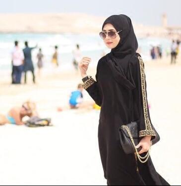 2016 горячие Шифон Абая Элегантный Турецкая Абая Мусульманских Женщин Платье Дубай Аравия Женская Одежда Турецкая Длинные Платья