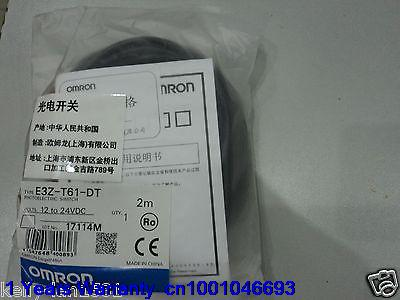 DHL/EUB 5pcs New Original for OMRON Photoelectric Switch E3Z-T61-DT 12-24VDC   15-18 [zob] new original omron omron photoelectric switch e3s at11 2m e3r 5e4 2m