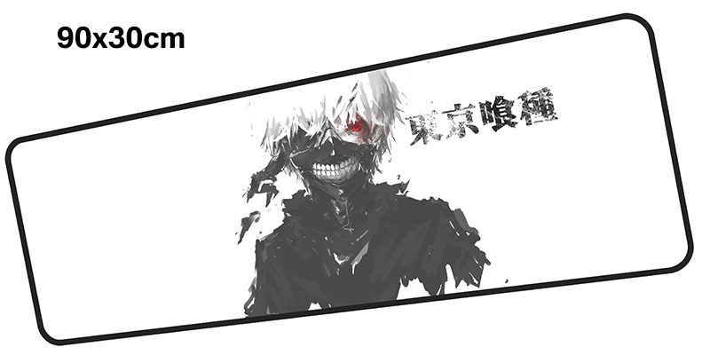 Tokyo Ghoul mouse pad gamer 900x300mm notbook mouse mat large gaming mousepad Fashion pad mouse PC desk padmouse accessories