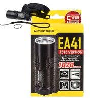 AA battery flashlight NITECORE EA41 EA41W CREE XM L2 U2 LED max. 1020 lumen beam distance 335 meter waterproof torch