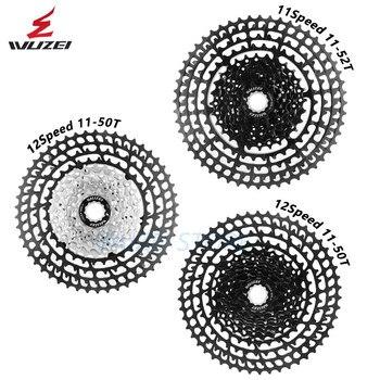 WUZEI Cassette Ultralight Freewheel 10/11/12 Speed Aluminum Alloy 11-50T 46T 52T MTB Bike Bicycle flywheel For Shimano GX