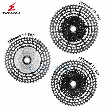 WUZEI Cassette Ultralight Freewheel 10/11/12 Speed Aluminum Alloy 11-50T 46T 52T MTB Bike Bicycle flywheel For Shimano GX - DISCOUNT ITEM  0% OFF All Category