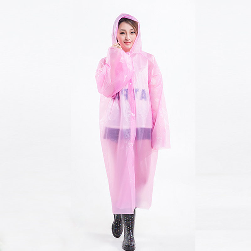 New Wholesale repeatedly use Adult Emergency Waterproof Raincoat Hood Poncho Camping Plastic Raincoat Sale Disposable Adult