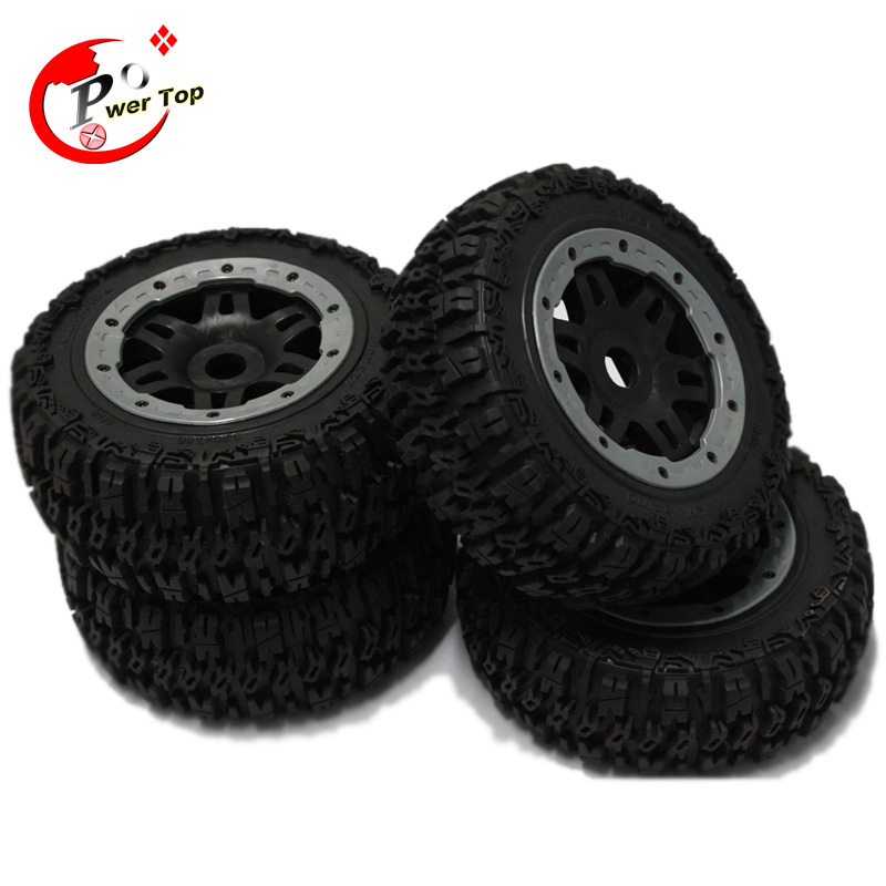 HPI ROVAN King Motor Baja 5T T1000 Pioneer tire tyre completed set Free Shipping front knobby tire x 2pcs set fit hpi rovan mcd baja 5t 5sc free shipping