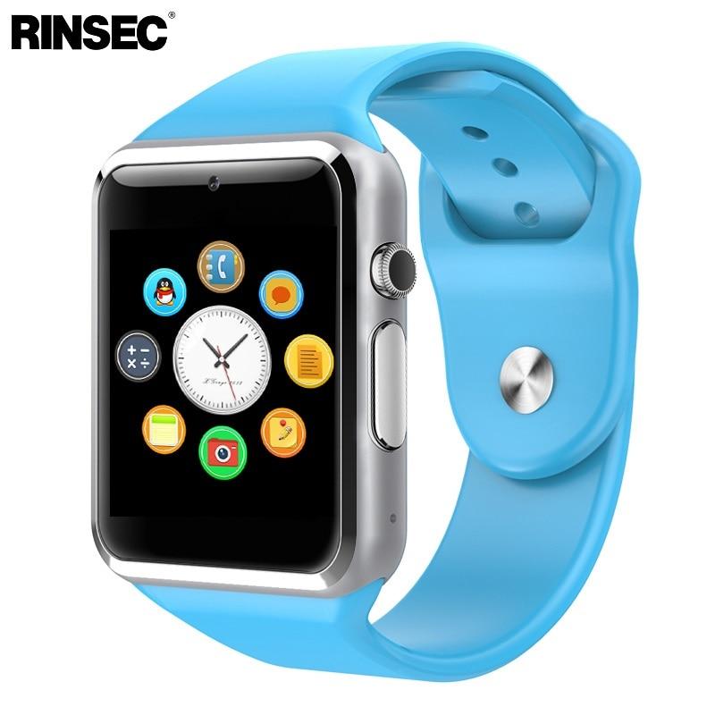 imágenes para Caliente Reloj Inteligente A1 Reloj de Sincronización Notificador Apoyo TF Tarjeta SIM Conectividad Apple iphone Teléfono Android Smartwatch