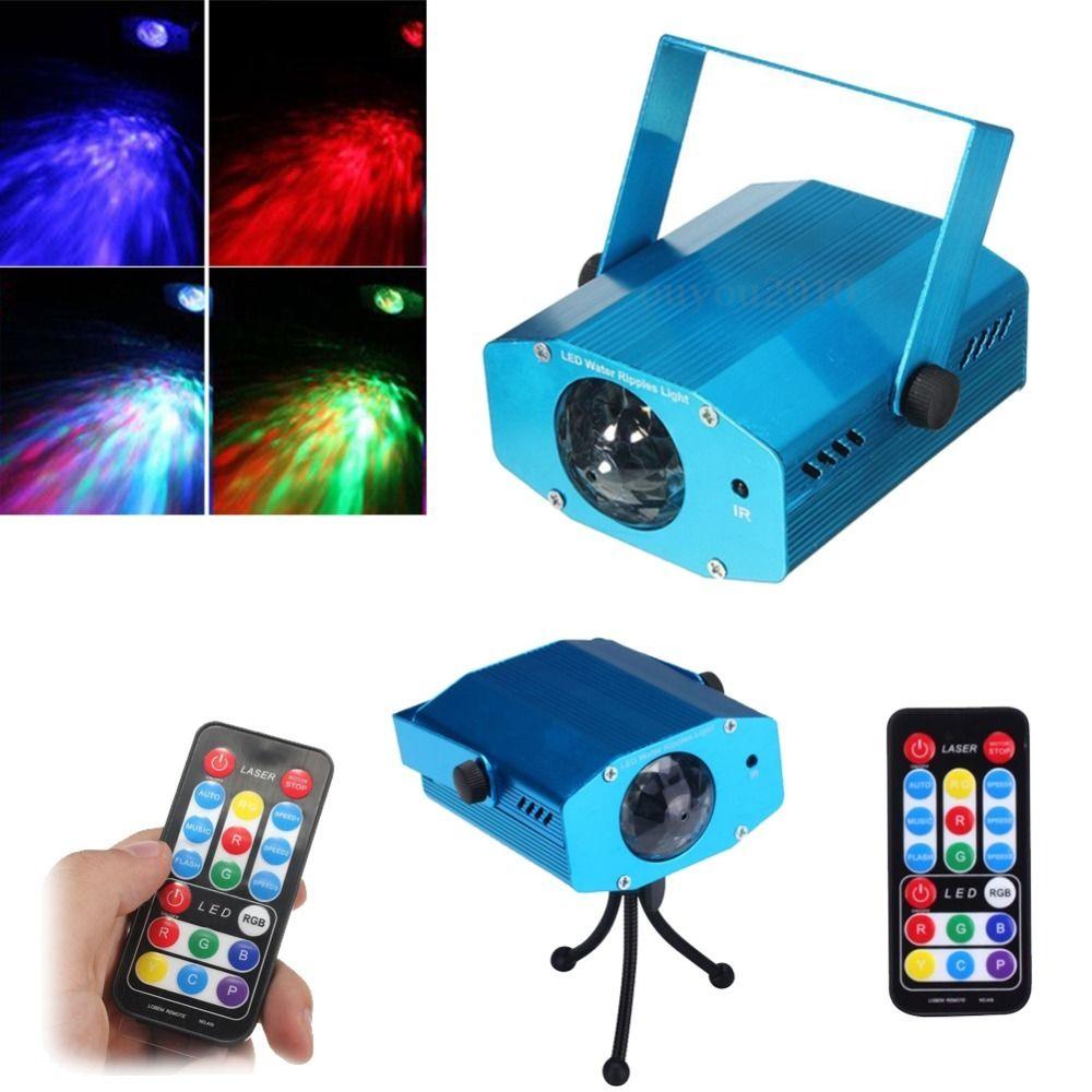 R&G DJ Disco LED Luz Mini Proyector Fiesta Láser Etapa Iluminación Show + Control remoto